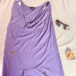 Purple Bench Dress